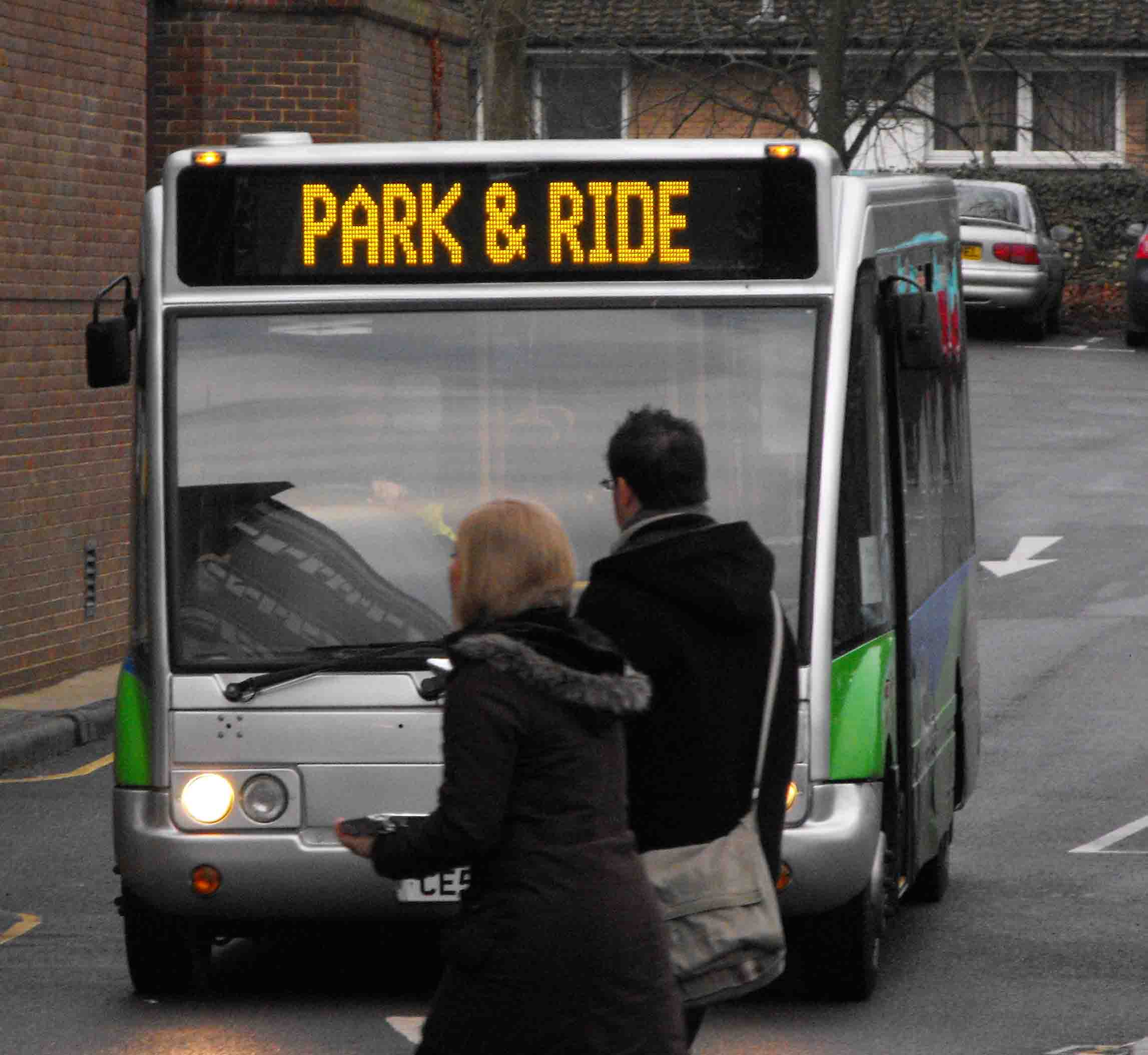 Park and Ride bus