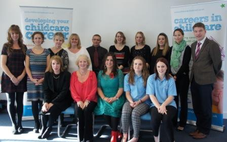 Dorset's childcare stars celebrated at awards ceremony