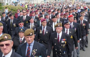Armed Forces Day celebrations in Weymouth