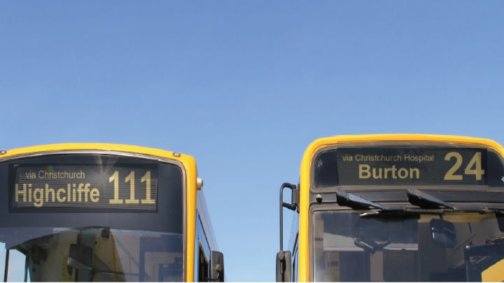 Bus 111 and 24