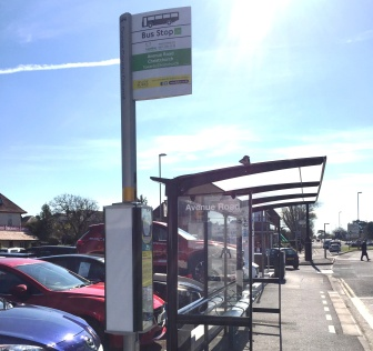 Avenue Road stop and shelter