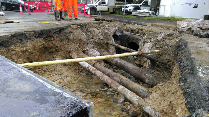 A30 culvert and pipes