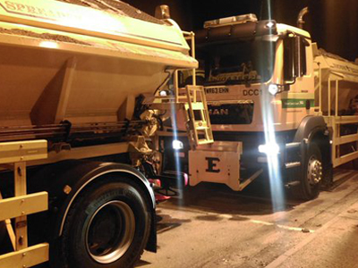 gritters roll out