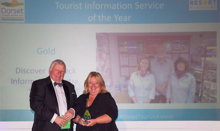 Gold award for Purbeck tourist information centre