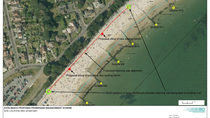 Avon Beach plan
