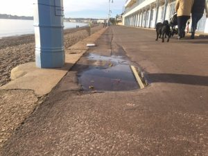 Promenade resurfacing