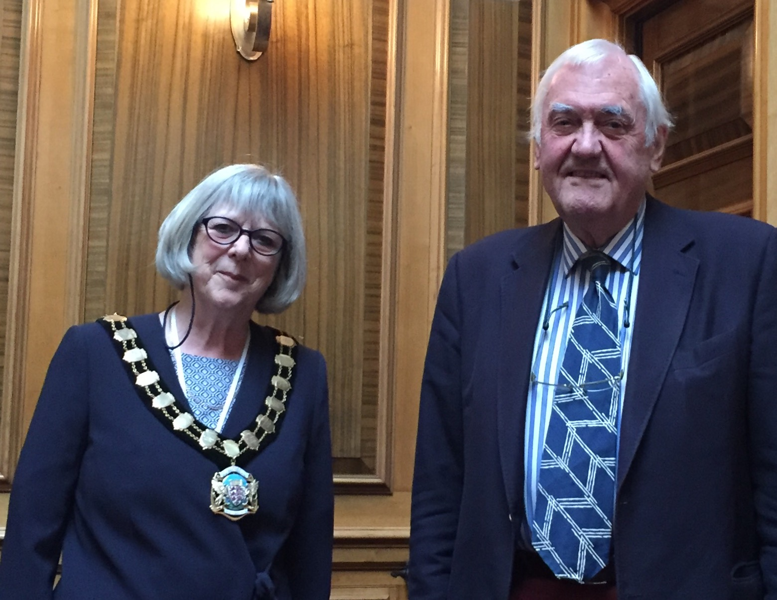 New Chairman of Dorset County Council, Hilary Cox