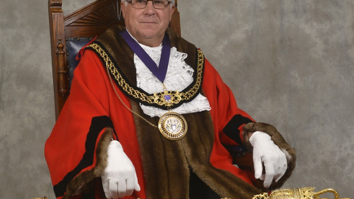 Cllr Kevin Brookes becomes Mayor of Weymouth and Portland