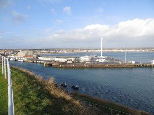 Preparations for future development of Weymouth Peninsula