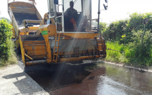 North Dorset surface dressing continues