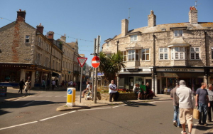 Swanage town centre improvements fully underway
