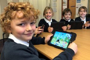Fibre broadband lights up young Dorset minds