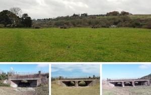 Durweston flood arches