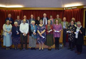 Dedicated Purbeck volunteers honoured