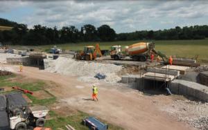 Durweston flood arch update – 12 July