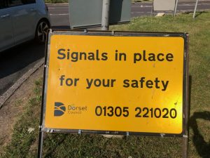 Temporary lights in place for drivers' safety