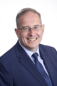 Cllr Andrew Parry, portfolio holder for children, education and hearly help