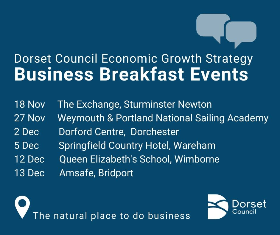 Dorset Council calls on businesses for their views on Council's Economic Growth Strategy