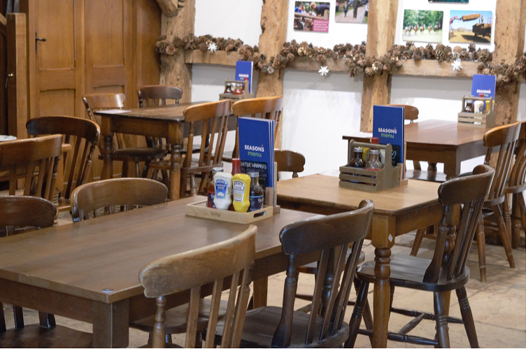 Restaurant furniture on offer at country park to raise money for local charity