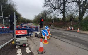 Highways work returns to Gillingham