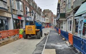 Improvement works restart in Swanage