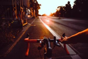 Road resurfacing and repainting works to help cyclists