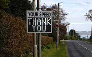 Praise for successful community road safety scheme