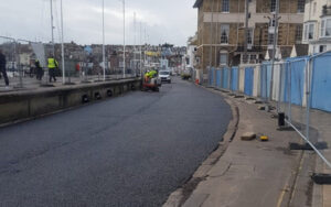 Highway work moves back into Commercial Road