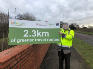 Transforming Travel's first sustainable travel route in Wimborne and Colehill set for construction