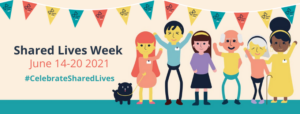 Image to show the date of Shared Lives Week 14 -20 June