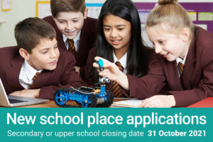 New school place applications