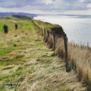 View of coastal path